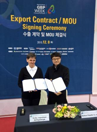 BaekSan distribution agreement